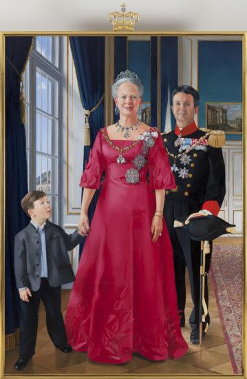 Niels Strøbek Dronning Margrethe